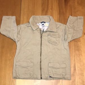 Baby Gap Fall Khaki Jacket Coat Boys 3T